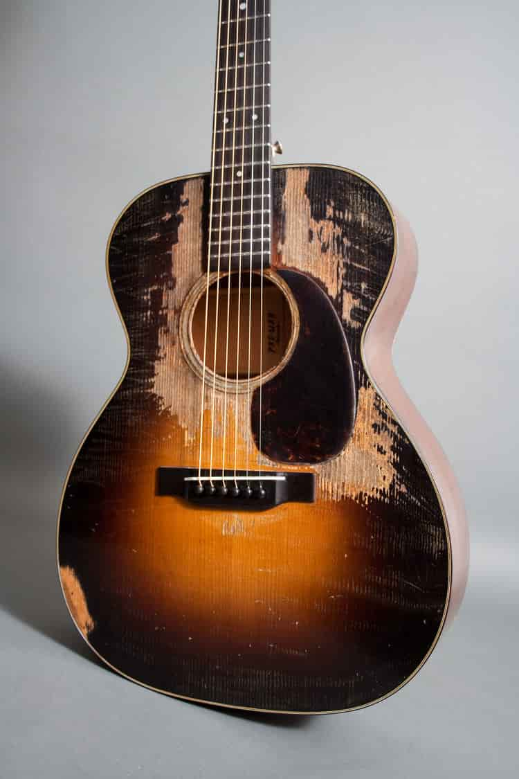 pre-war 吉他仿舊外觀