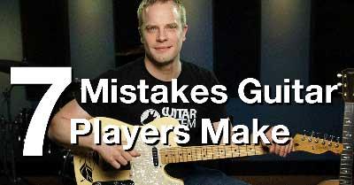 吉他手最常見的七大錯誤