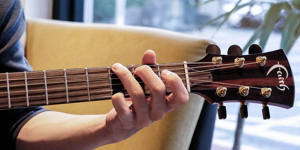 G和弦實際按法