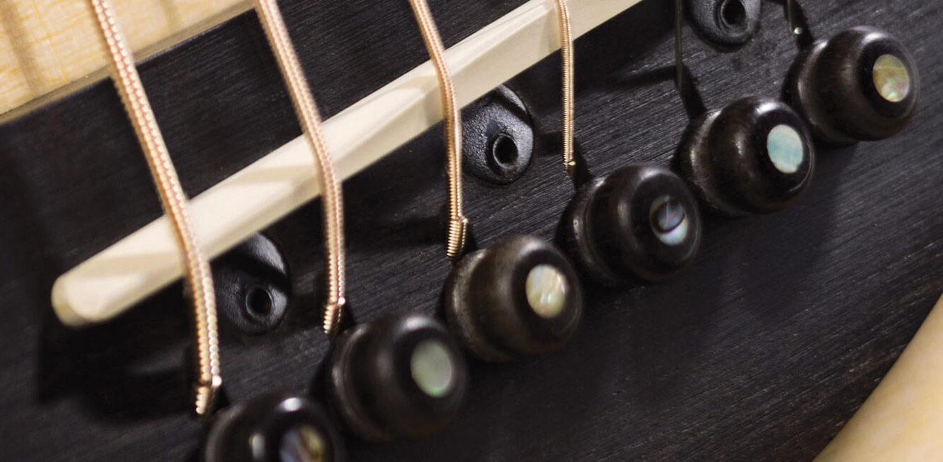 taylor guitar ES2 拾音器系統展示
