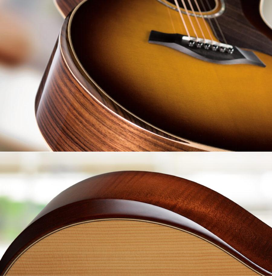 taylor guitar Armrest 扶手設計