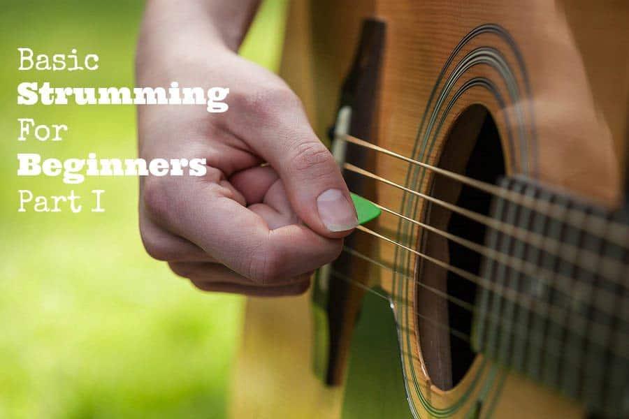 在大自然彈吉他