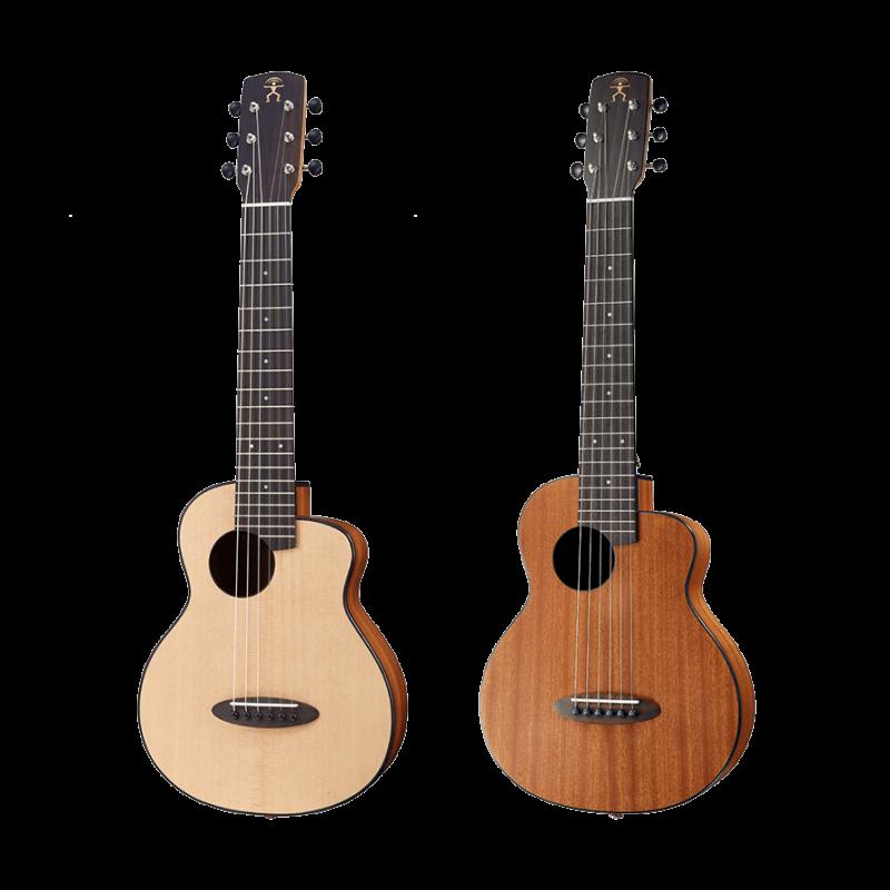 anuenue feather s10和s20的尺寸比一般的旅行吉他小更多