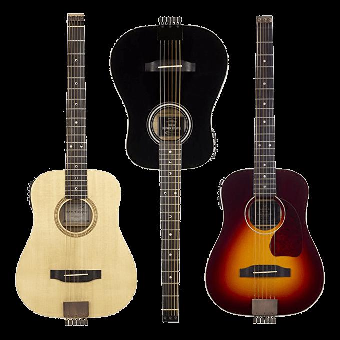 traveler guitars擁有非常多樣式造型以及無琴頭設計