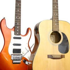 民謠、電吉他使用