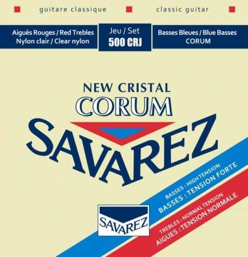 Savarez 500CRJ New Cristal Corum – 中高張力