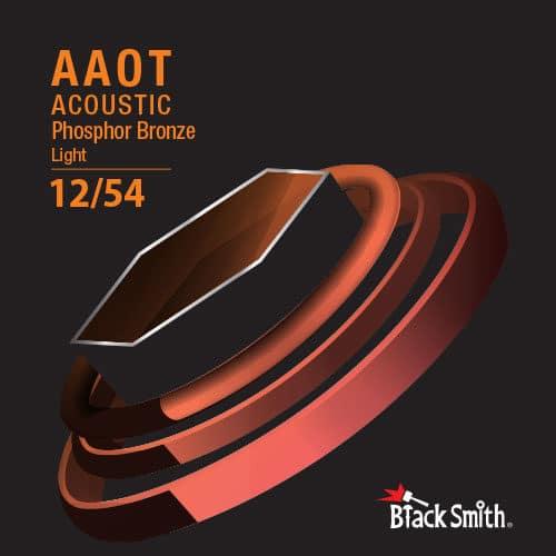 BlackSmith AAPB-1254 奈米碳纖維 AAOT厚包覆 磷青銅 民謠吉他弦