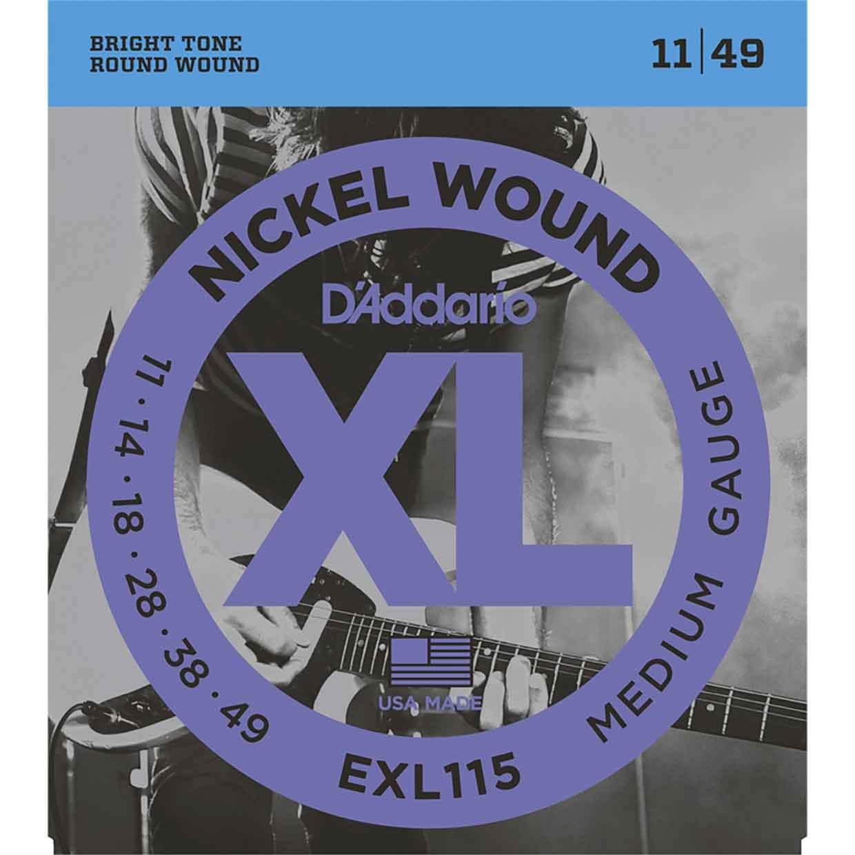 D'Addario-EXL115-11-49-ELECTRIC-STRING-鎳纏繞-電吉他弦