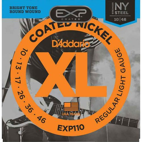D'Addario-EXP110-10-46-ELECTRIC-STRING-電吉他弦-覆膜-鍍鎳