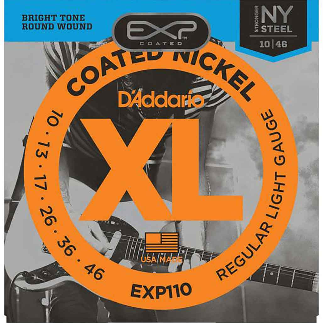 D'Addario-EXP110-10-46-ELECTRIC-STRING-電吉他弦-覆膜-鍍鎳