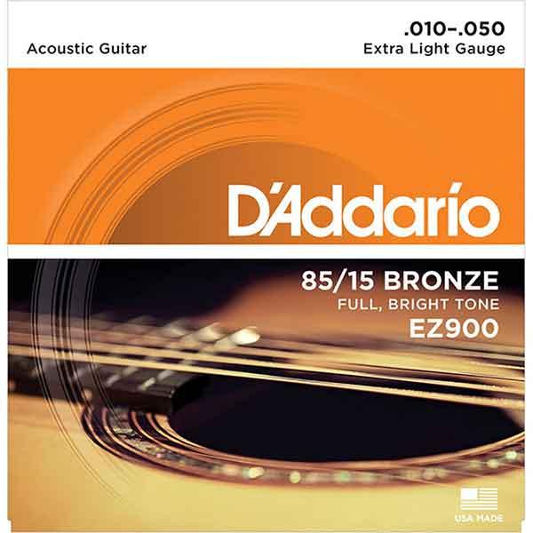 D'Addario-EZ900-民謠吉他弦-8515-BRONZE-.010-