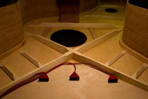 Dazzo 木吉他面板吸附式拾音器