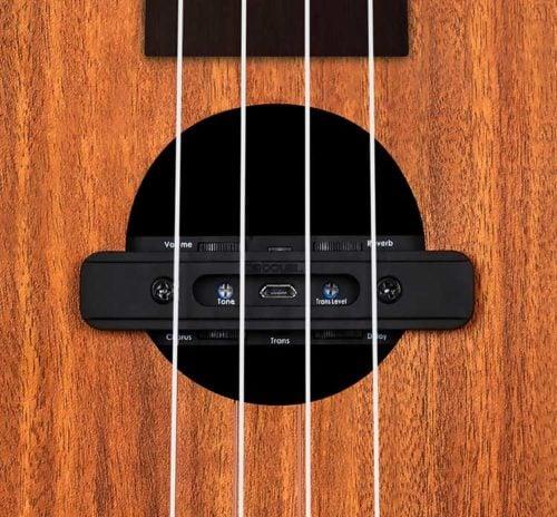 烏克麗麗 加振拾音器 Double X2 U0 (2)
