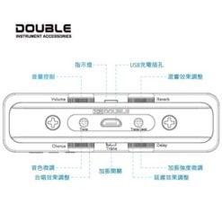 烏克麗麗 加振拾音器 Double X2 U0 (3)