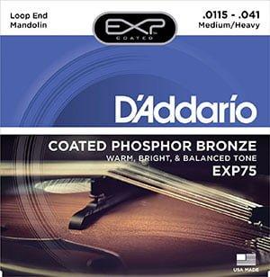 EXP 75 Phosphor Bronze 覆膜紅銅弦