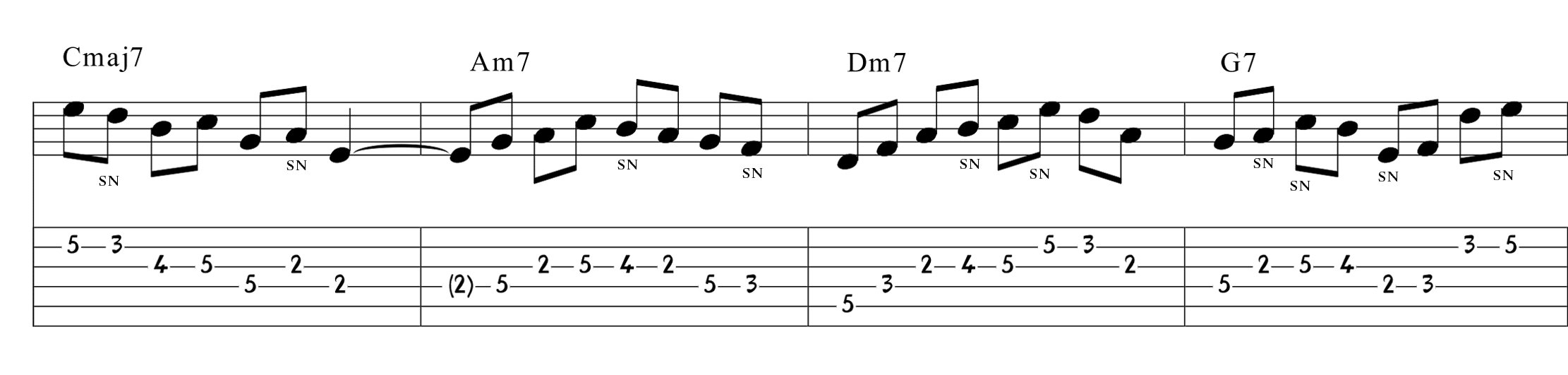 爵士吉他—Ex15