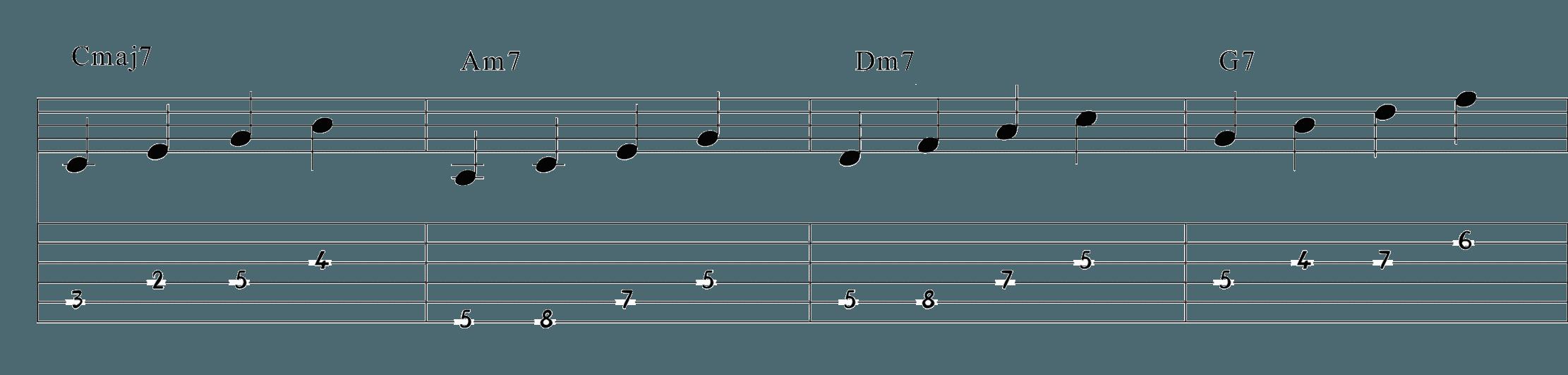 爵士吉他—Ex8