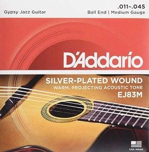 Gypsy-Jazz Silver-plated wound EJ83M