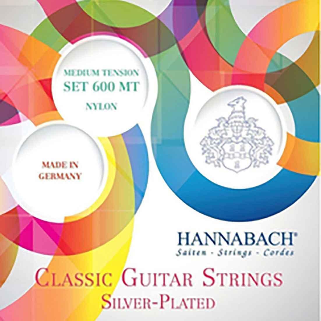Hannabach-600MT-古典吉他弦-中張力-環保包裝