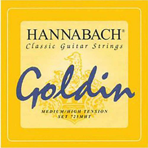 Hannabach-725MHT-Goldin-古典吉他弦-碳纖維-中高張力