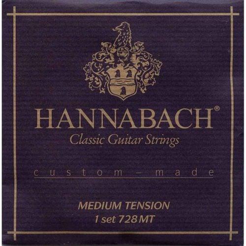 Hannabach-728MT-古典吉他弦-中張力-黑色-Custom-made
