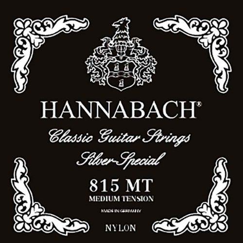 Hannabach-815MT-古典吉他弦-中張力-雙D弦-黑色