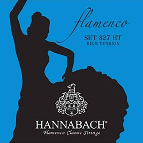 Hannabach-827HT-佛拉門哥吉他弦-Flamenco-古典吉他弦-高張力-藍色