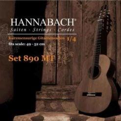 Hannabach-890MT-古典吉他弦-中張力-小吉他-14