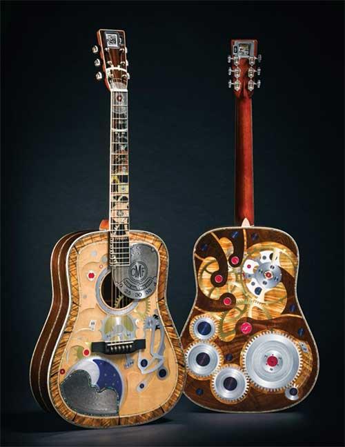 Martin 華麗 浮誇 2000000萬支吉他紀念款