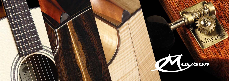 mayson guitar使用的吉他木材