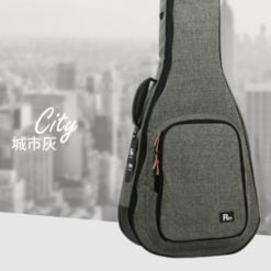 RM 民謠吉他 立體軟盒 城市灰