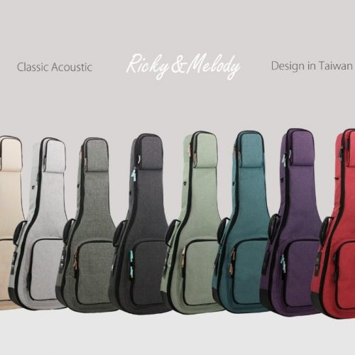 RM 民謠吉他 立體軟盒