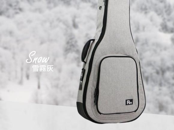 RM 民謠吉他 立體軟盒 雲霧灰