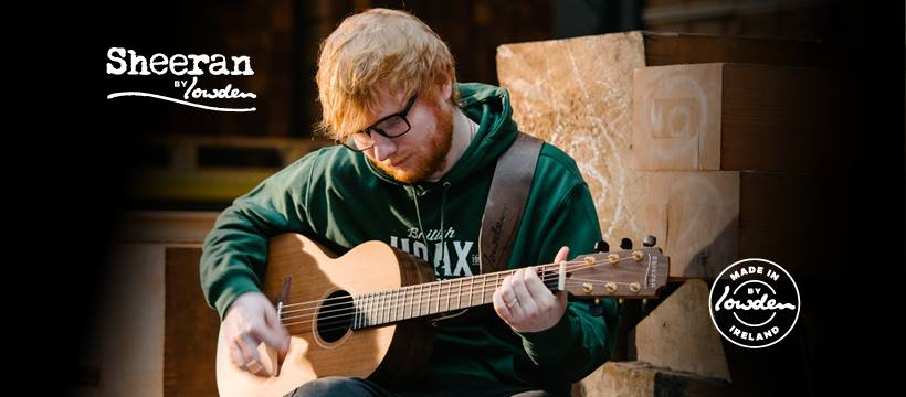 Sheeran guitar by Lowden