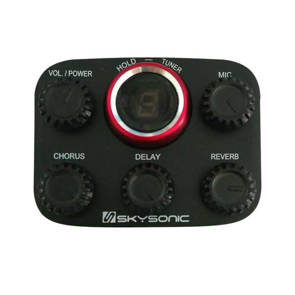 Pukanala PG-GA2C + Skysonic R1 加振拾音器