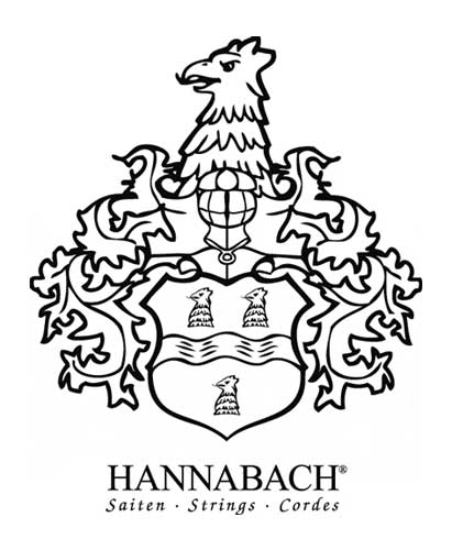 hannabach logo is like an eagle