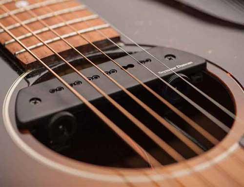 Seymour duncan 木吉他磁性響孔拾音器